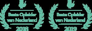 Creatie Nest Beste Opleider van 2018 en 2019